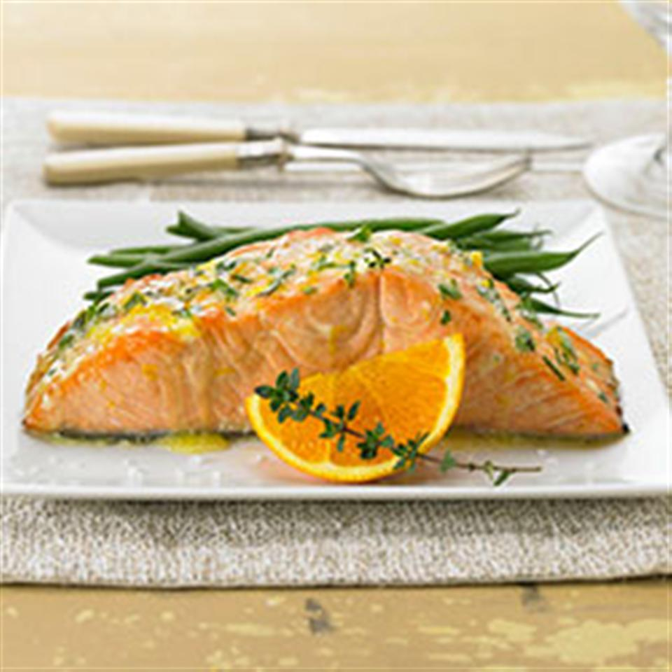 Herbed Citrus Salmon Trusted Brands
