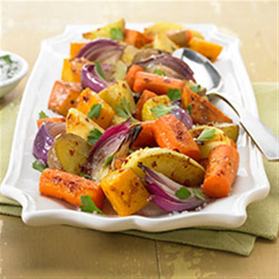 Napa Style Roasted Vegetables with Diamond Crystal® Sea Salt