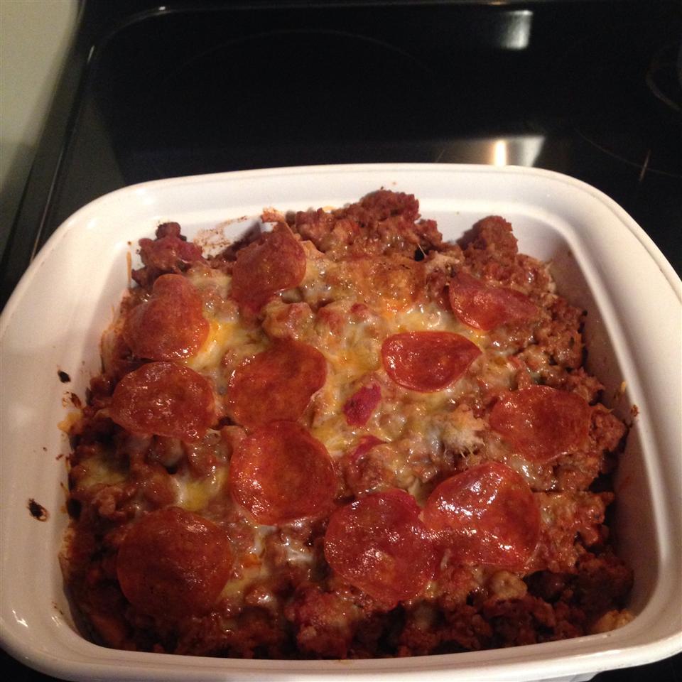 Meaty Buns Casserole Megan Morris Cook