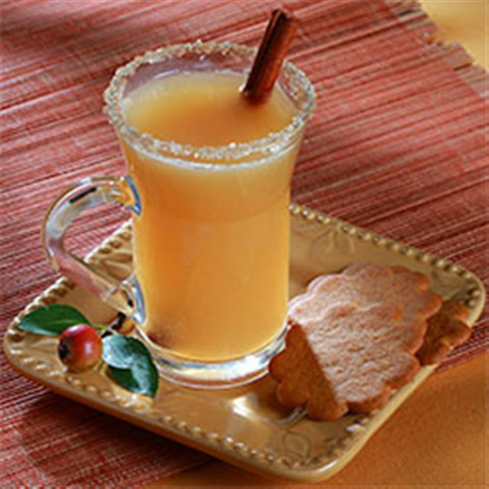 Caramel Apple Cider with Salty-Sweet Rim Trusted Brands