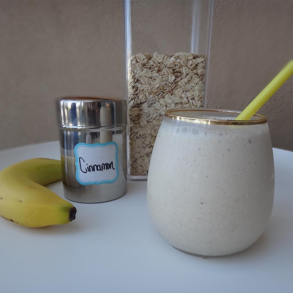 PB Banana Oat Smoothie