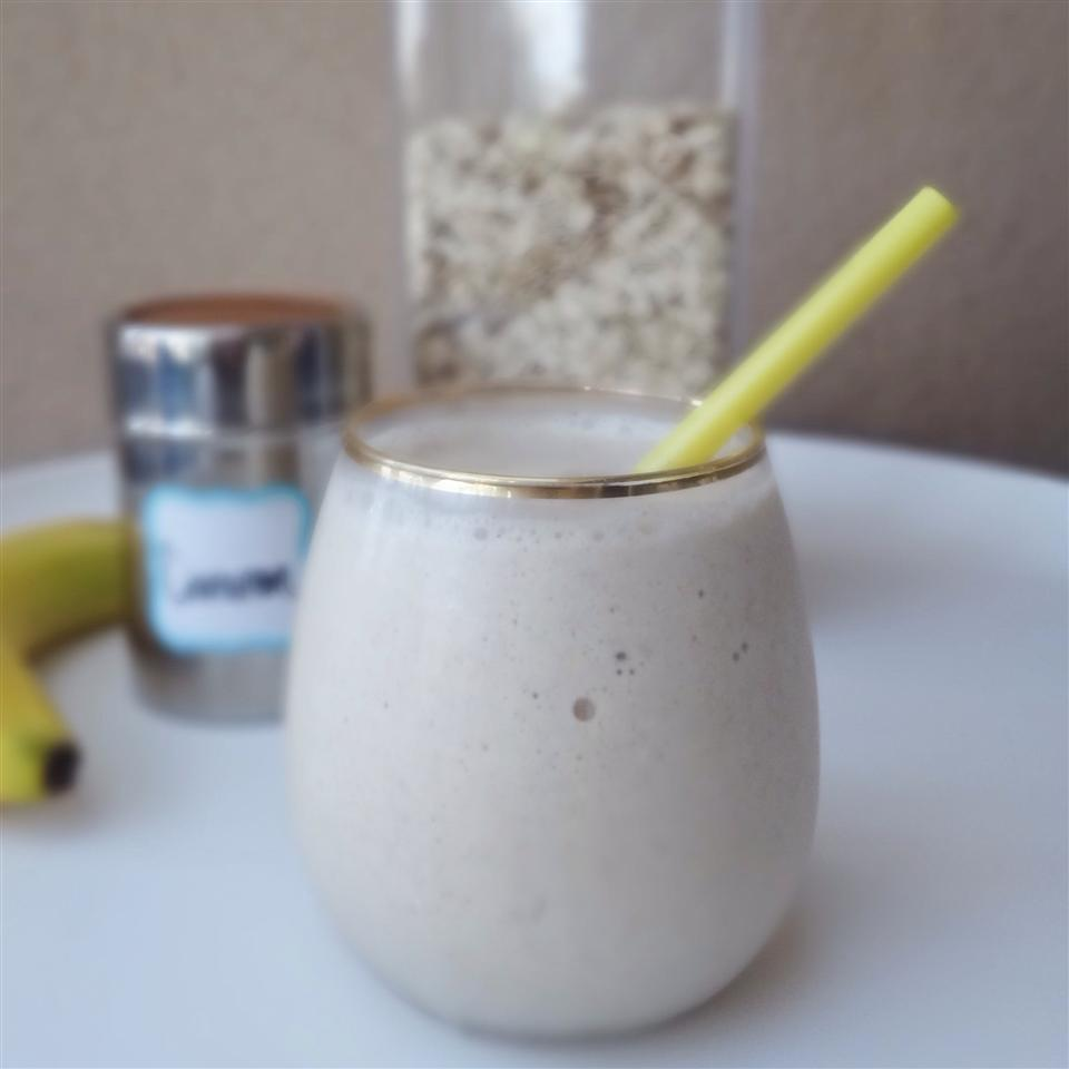 PB Banana Oat Smoothie House of Aqua