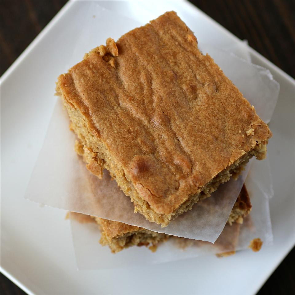 Peanut Butter Blondie Brownies My Hot Southern Mess