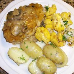 Golden Pork Chops Kathie