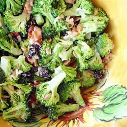 Fresh Broccoli Salad TaraAnderson