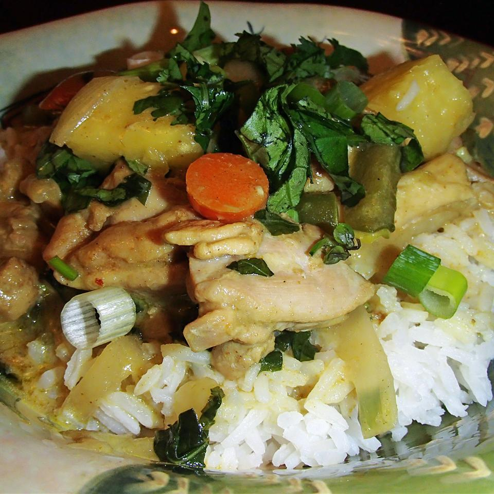 Thai Chicken Curry with Pineapple Janet Henderson