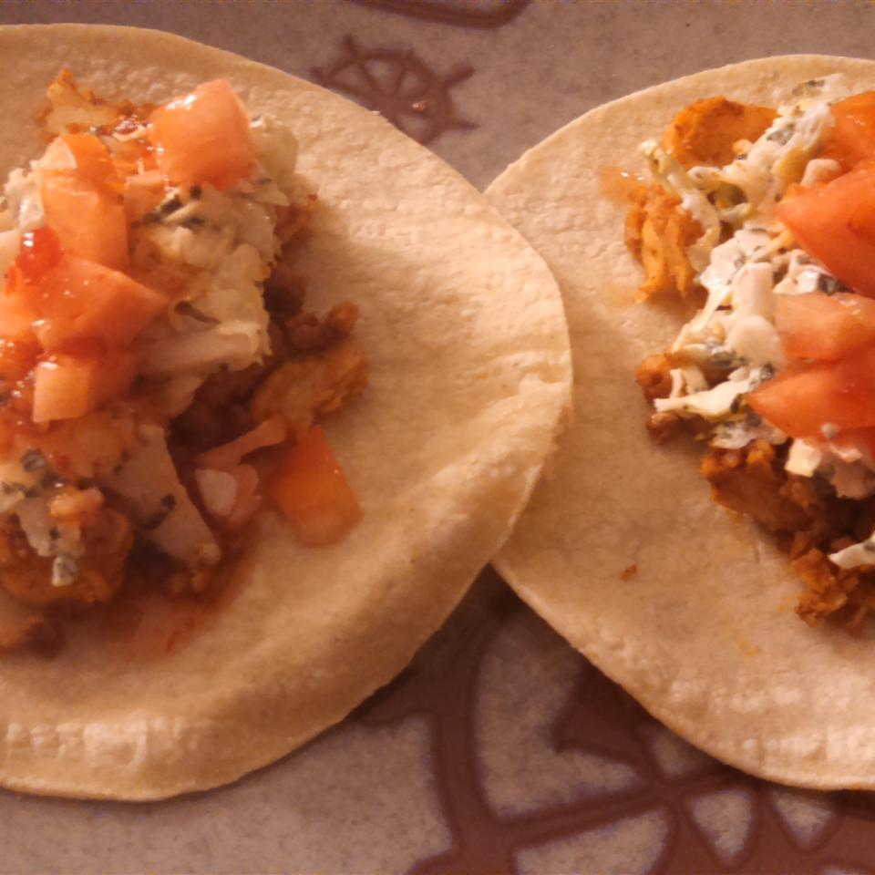 Spicy Fish Tacos with Fresh Lime Sauce Mauidirksen