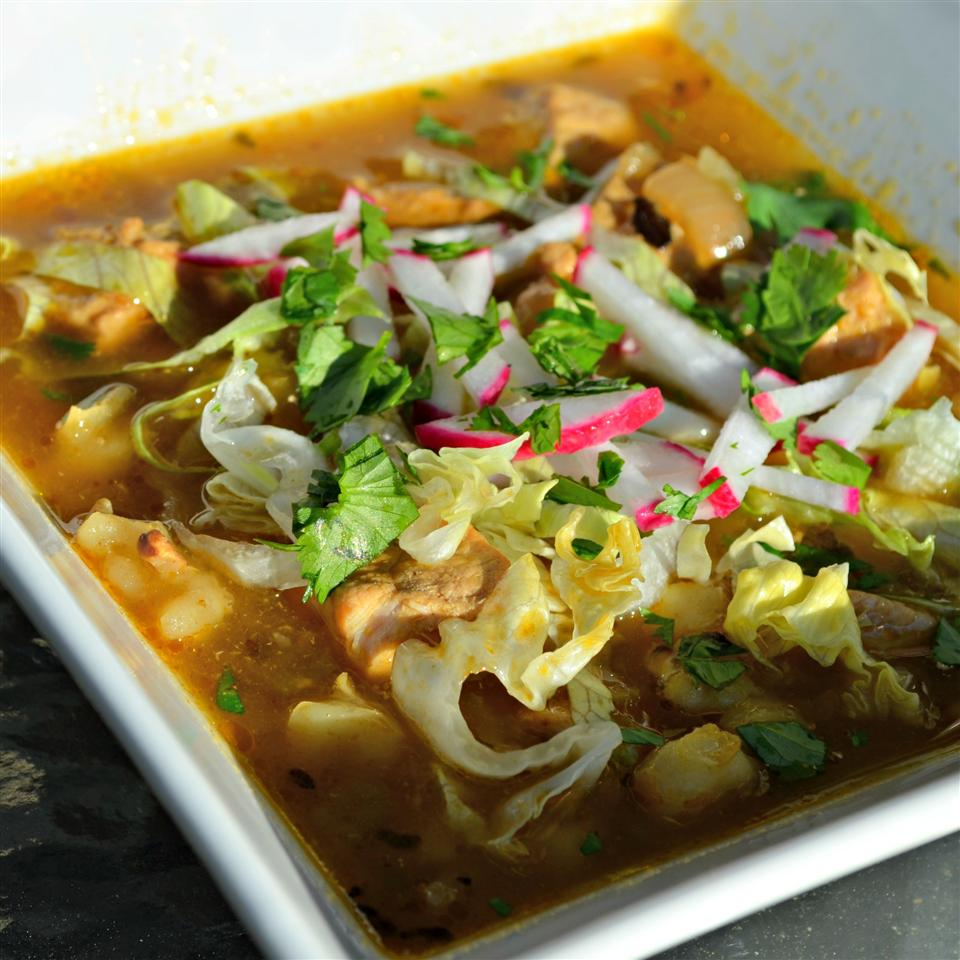 Green Pozole Kim's Cooking Now