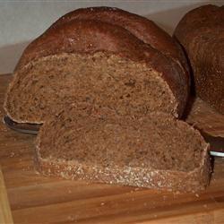 Bread Machine Pumpernickel Bread JIM BUCKLAND