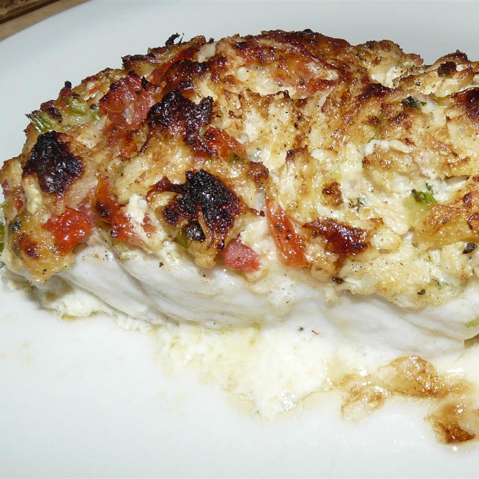 Crab Stuffed Haddock moggy