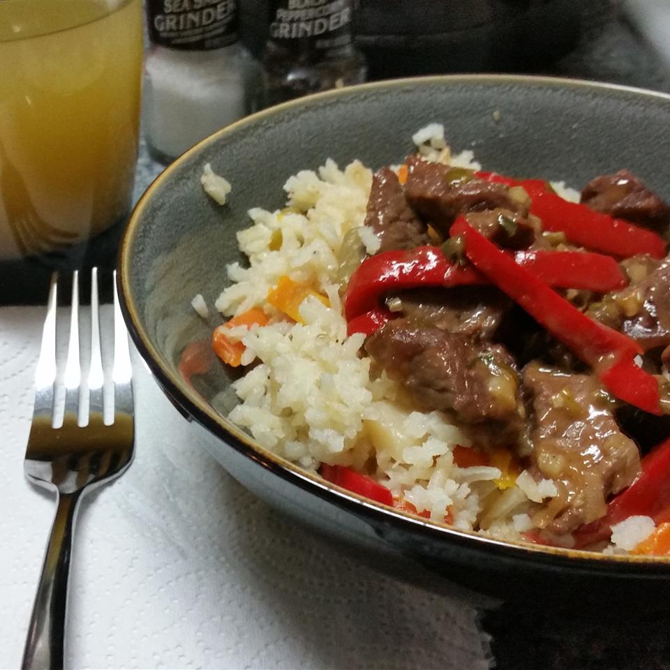 Spicy Orange Zest Beef Chrystian Tinoco