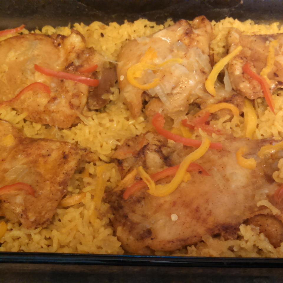Thighs on Rice MonicaKeyes