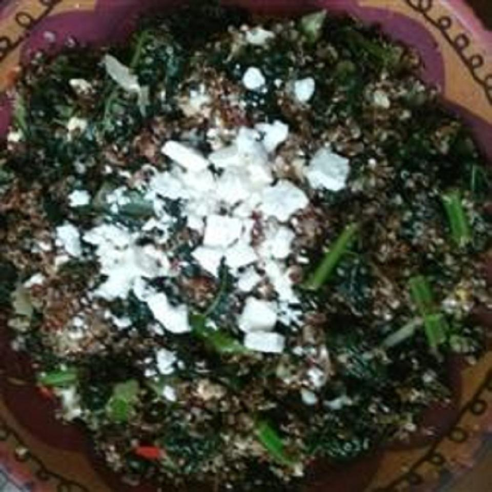 Red Quinoa and Tuscan Kale Selayma