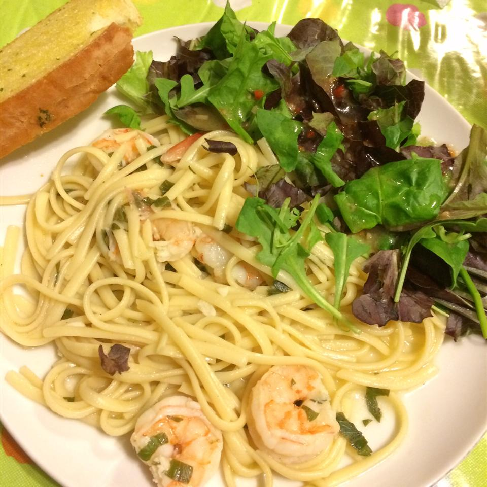 Shrimp Lemon Pepper Linguini alimar255