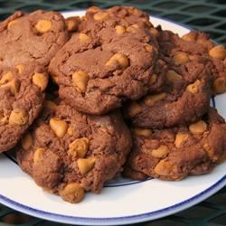 Easy Chocolate Butterscotch Cookies Jessica