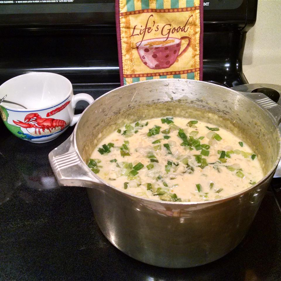 Marion's Super Easy Corn Crab Bisque Susan Louviere Hubbard