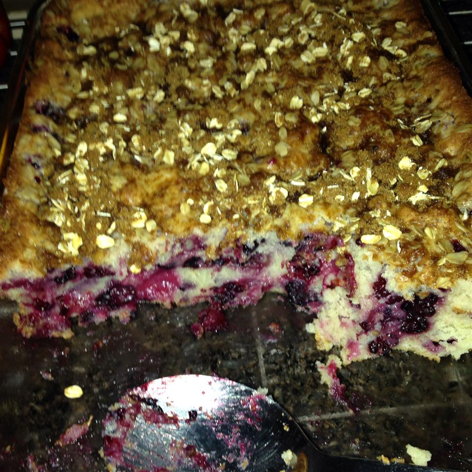 Blueberry Sour Cream Coffee Cake JennyG