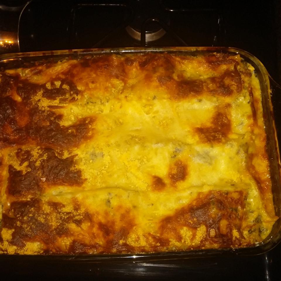 Chicken Lasagna with White Sauce Q-licious