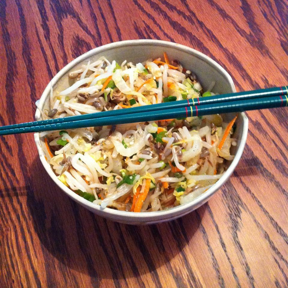 Korean Bean Sprout Salad