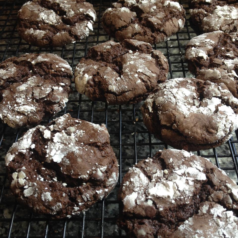 Easy Chocolate Crackled Cookies Sarah Parker