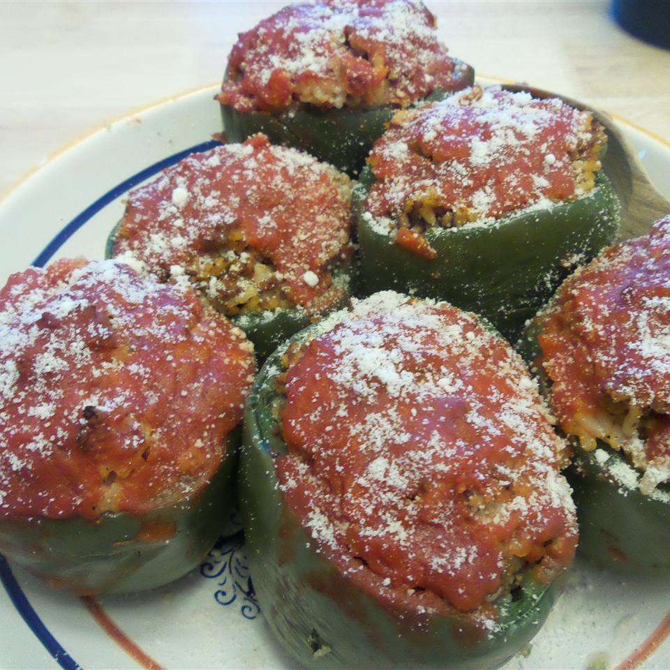 Stuffed Green Peppers jenny bartolo