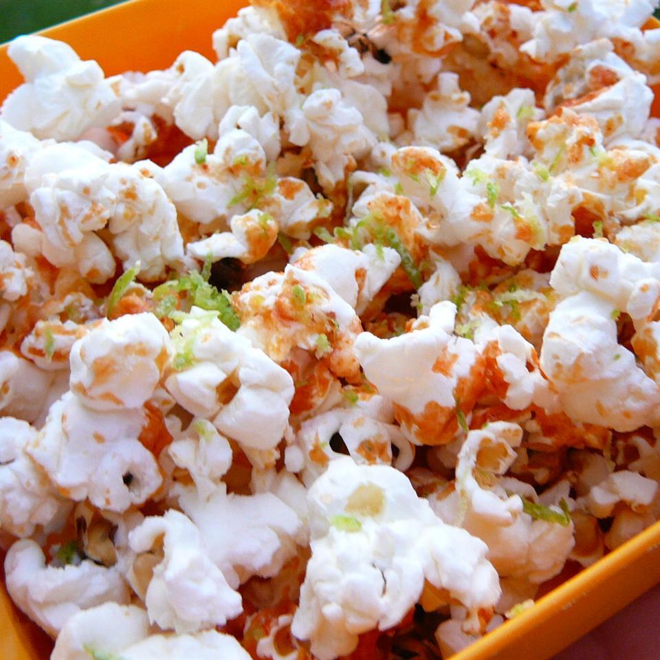 Sriracha-Lime Popcorn