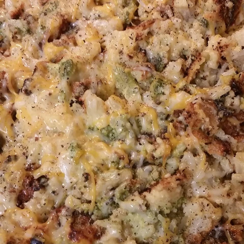 Broccoli and Cauliflower Casserole