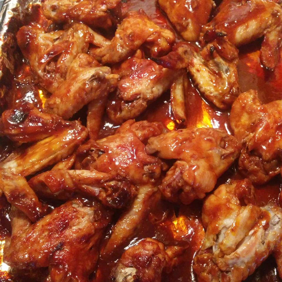 Ashley and Whitney's Honey BBQ Wings Jimmy Toone