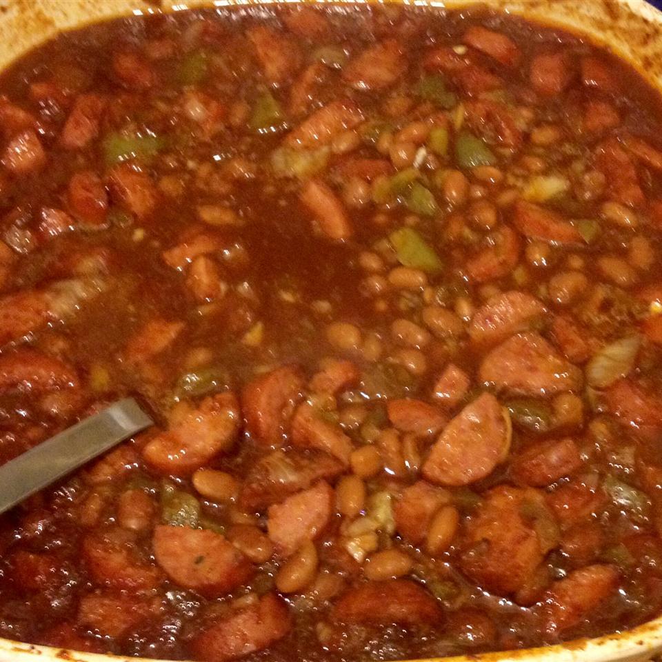 Baked Beans, Texas Ranger chadrockman