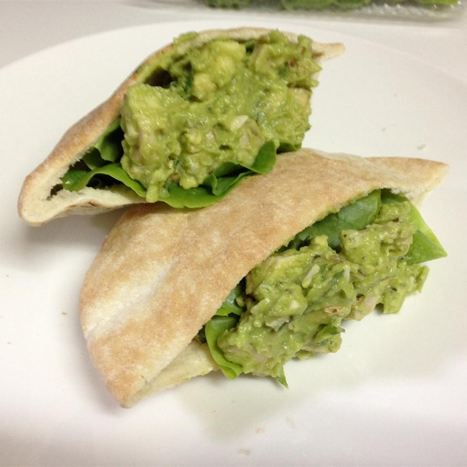 Basil-Avocado Chicken Salad Wraps birdstock