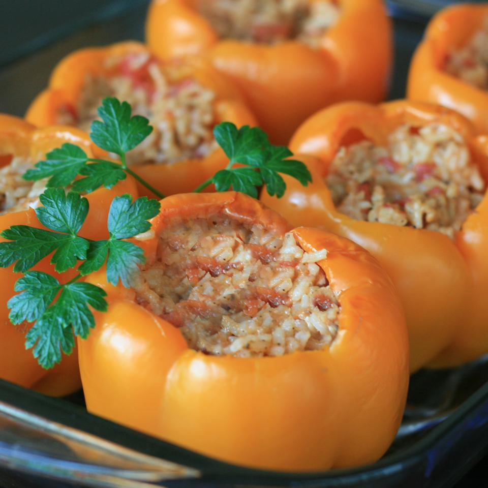 Stuffed Orange Peppers