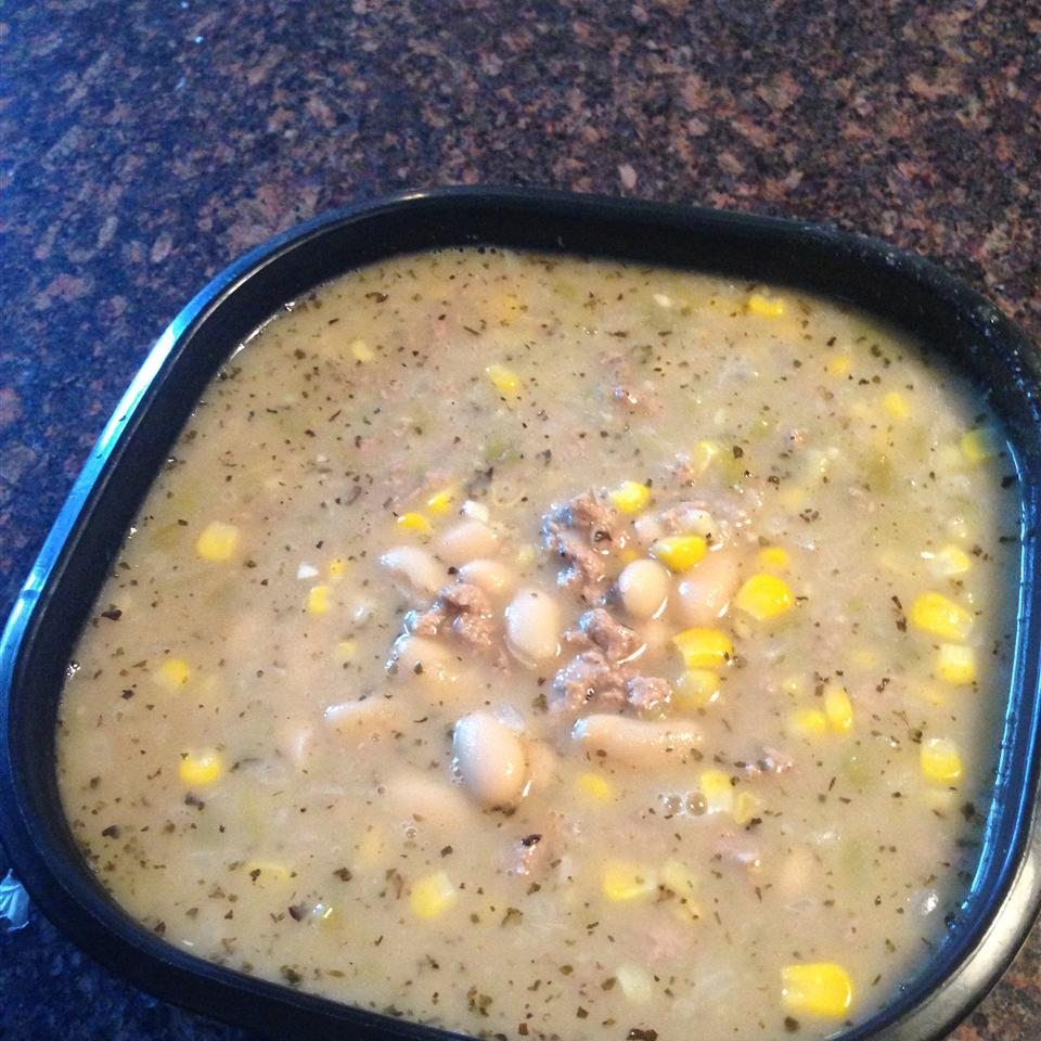 White Chili with Ground Turkey Rebecca Davis