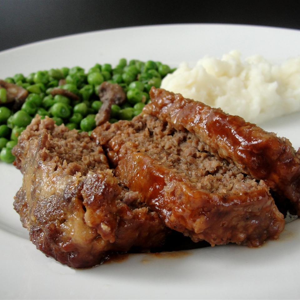 Upside-Down Barbeque Meatloaf