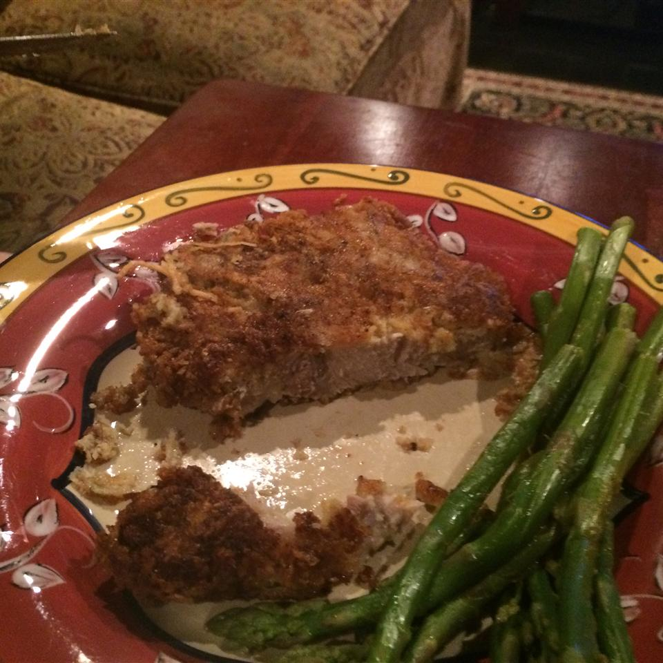 Parmesan Sage Pork Chops