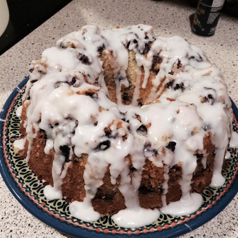 Blueberry-Lemon Pound Cake