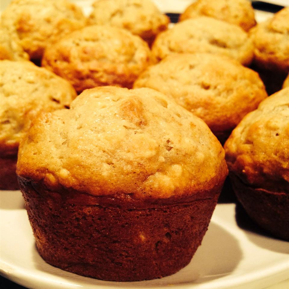 Banana Oat Muffins Stephanie