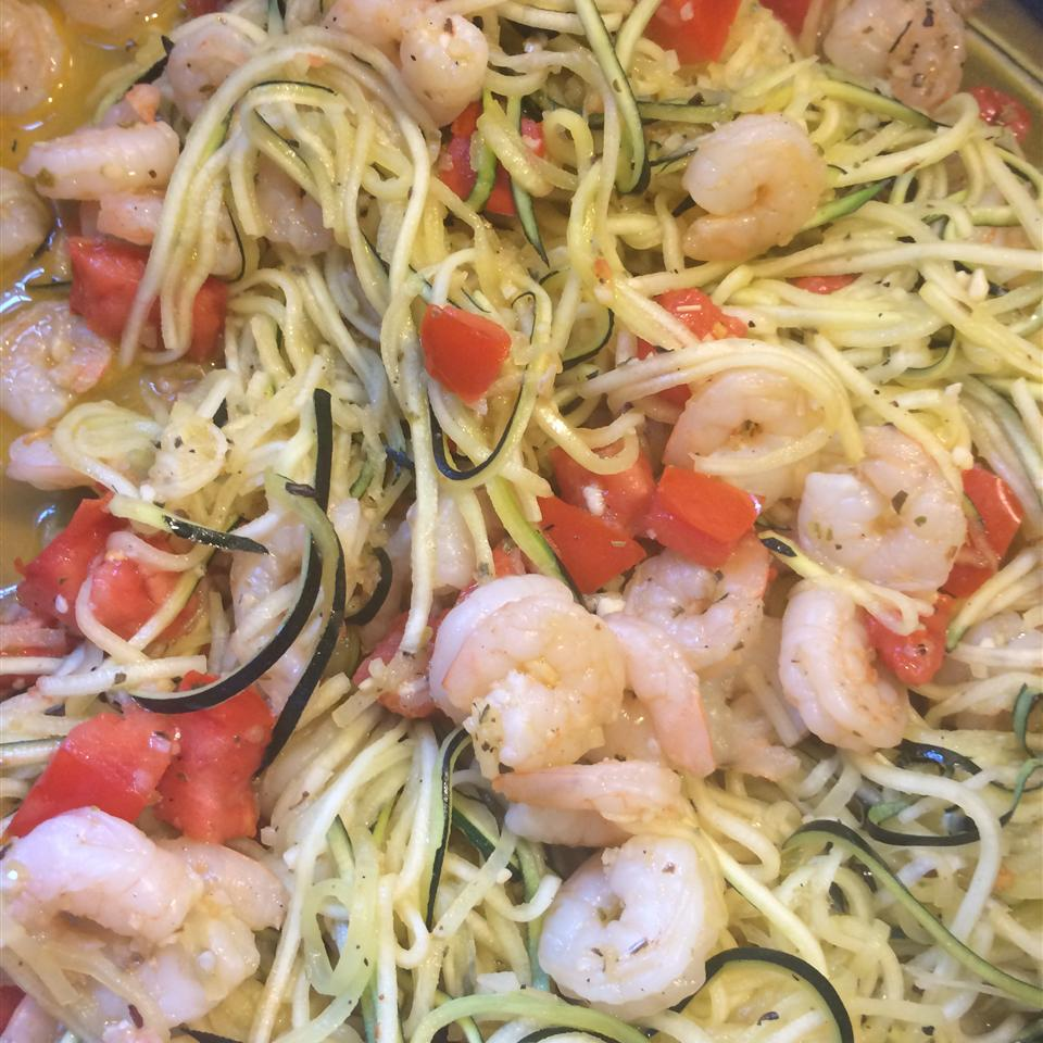 Low-Carb Zucchini Pasta