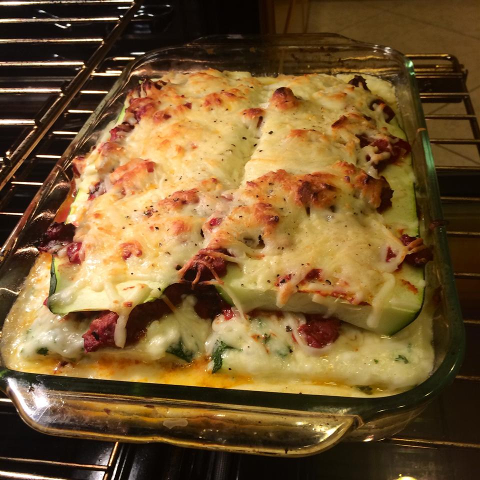 Zucchini Lasagna With Beef and Sausage Rosie McConnell