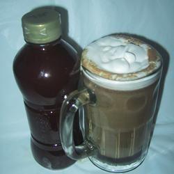 Chocolate Caramel Latte Syrup sueb