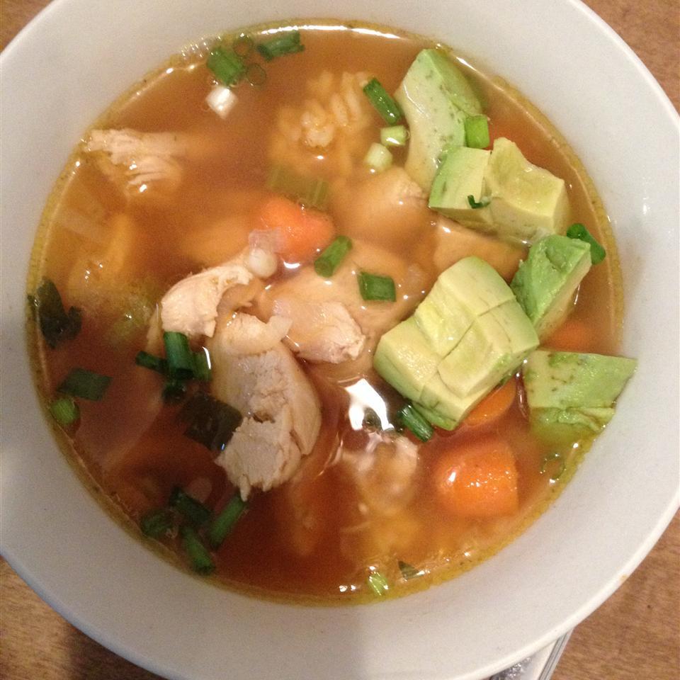 Caldo De Pollo (Mexican Chicken Soup)