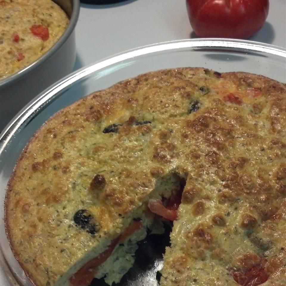Zucchini Tomato Pie magpie