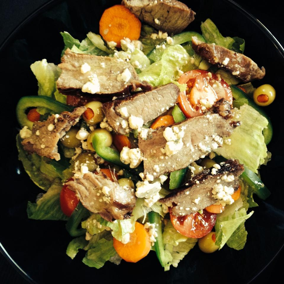 Steak Salad Eric