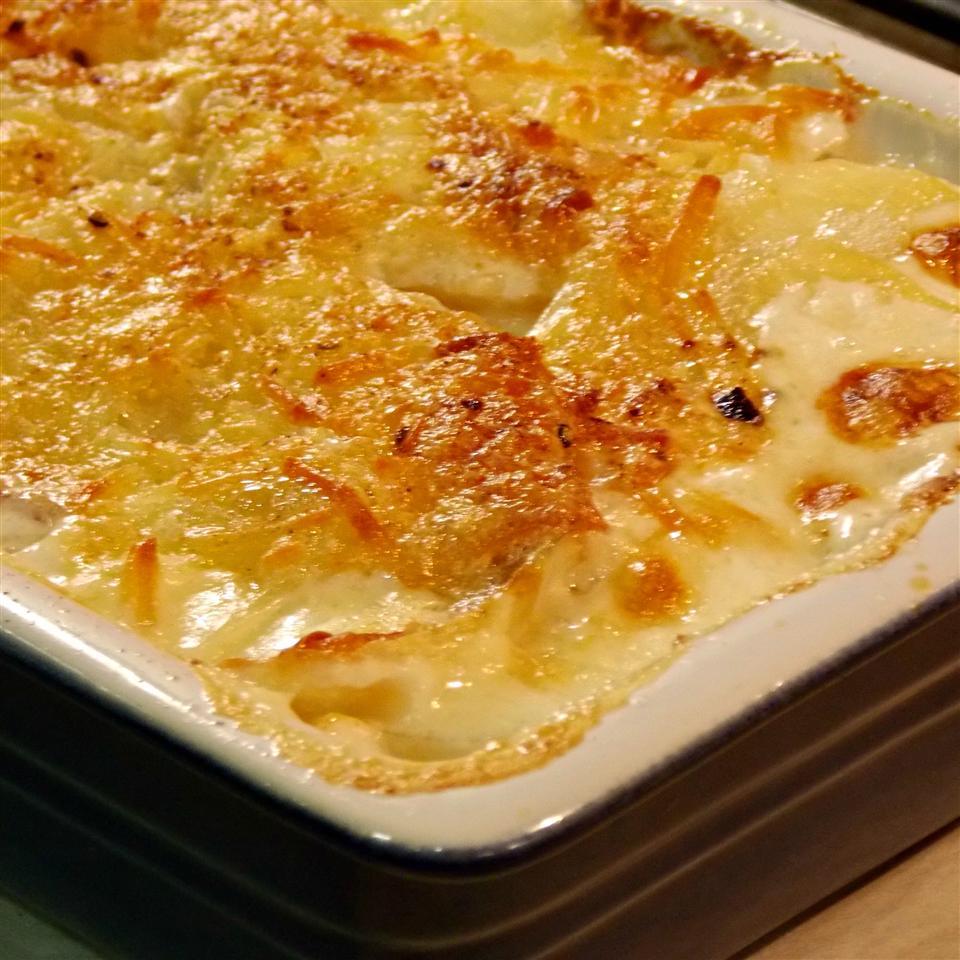 Swiss Cheese and Bacon Scalloped Potatoes Baking Nana