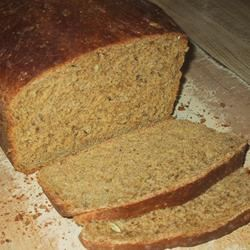 Danish Spiced Rye Bread (Sigtebrod) sueb