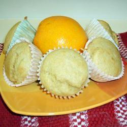 Orange Muffins Bakeratheart