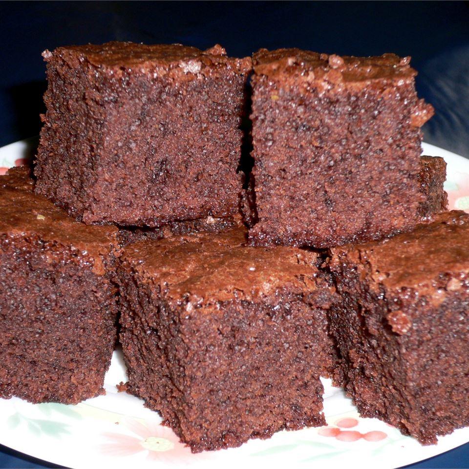 Deep Dish Brownies Nana Sidek