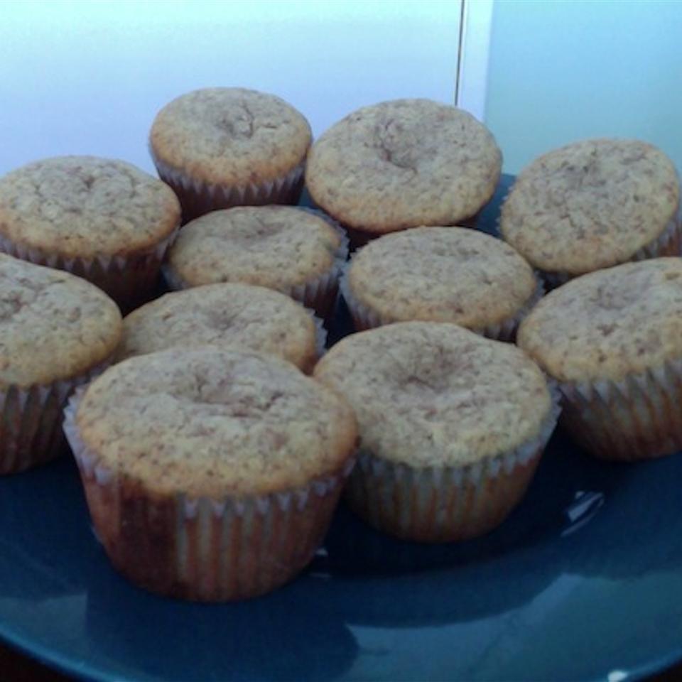 Sugar-Free Keto Banana Coconut Muffins