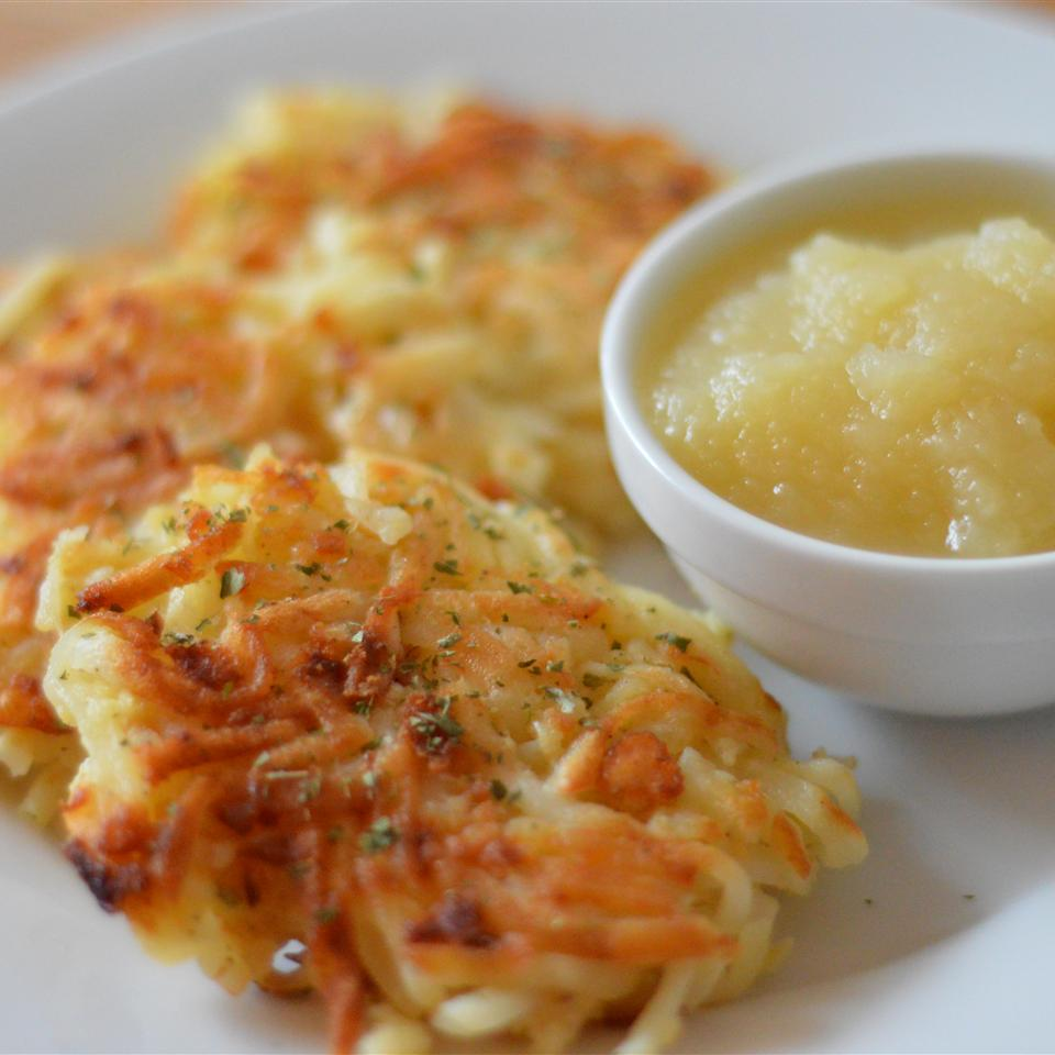 Mom's Potato Latkes