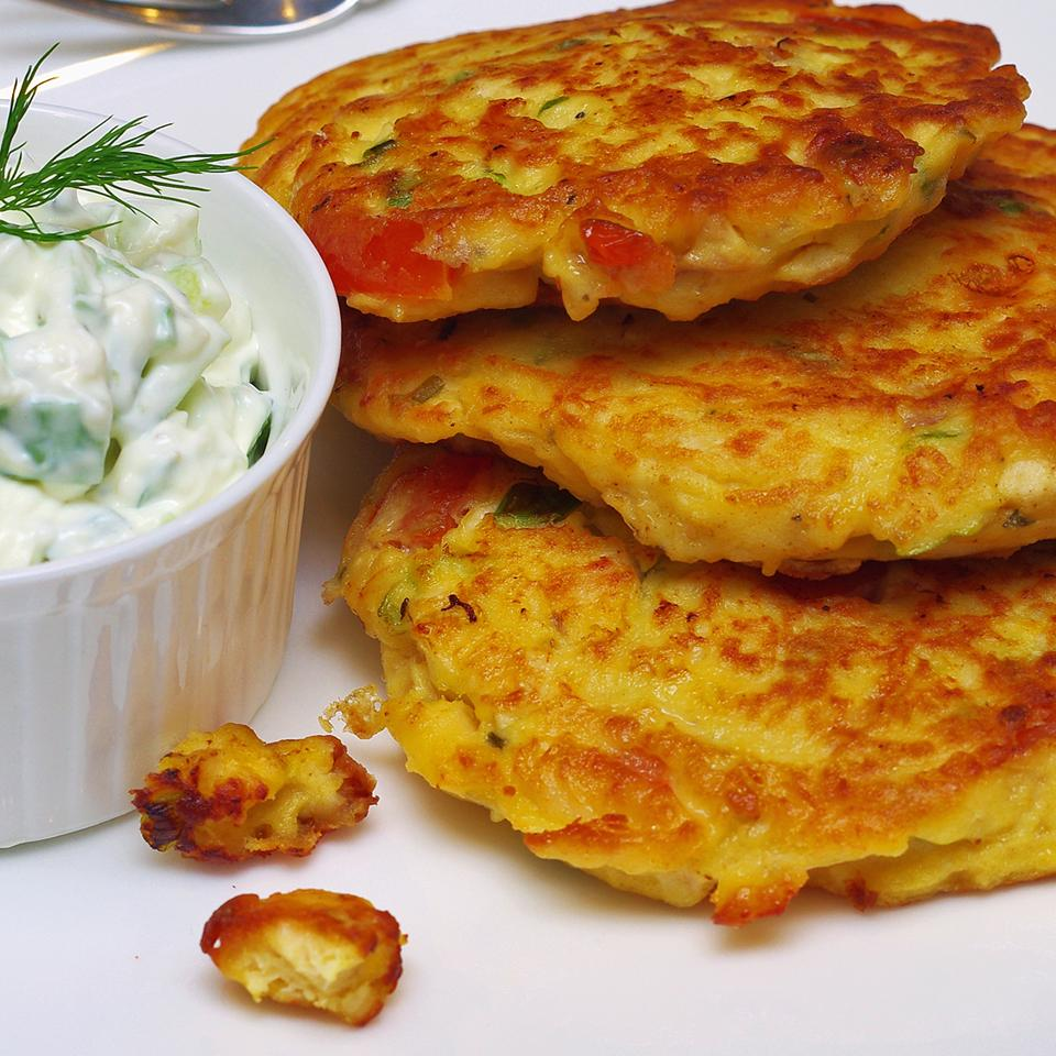 Chicken Veggie Fritters Anonymous