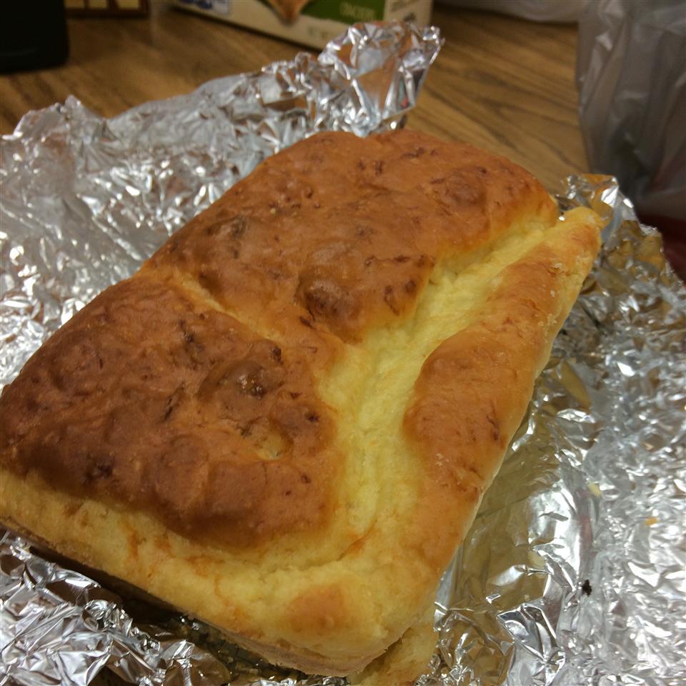 Easy Roman Cheese Bread Jennifer Hankins Green